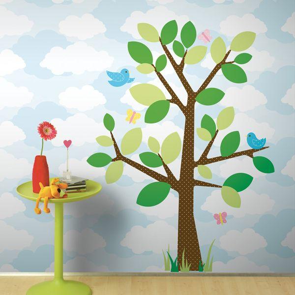 Väggdekor - Stort prickigt träd - RM1319G