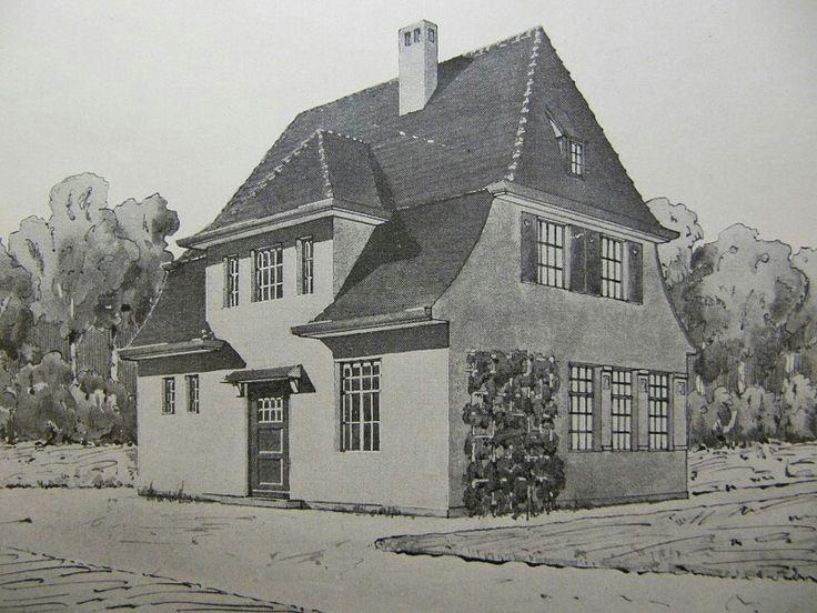 Типовой дом бюргера