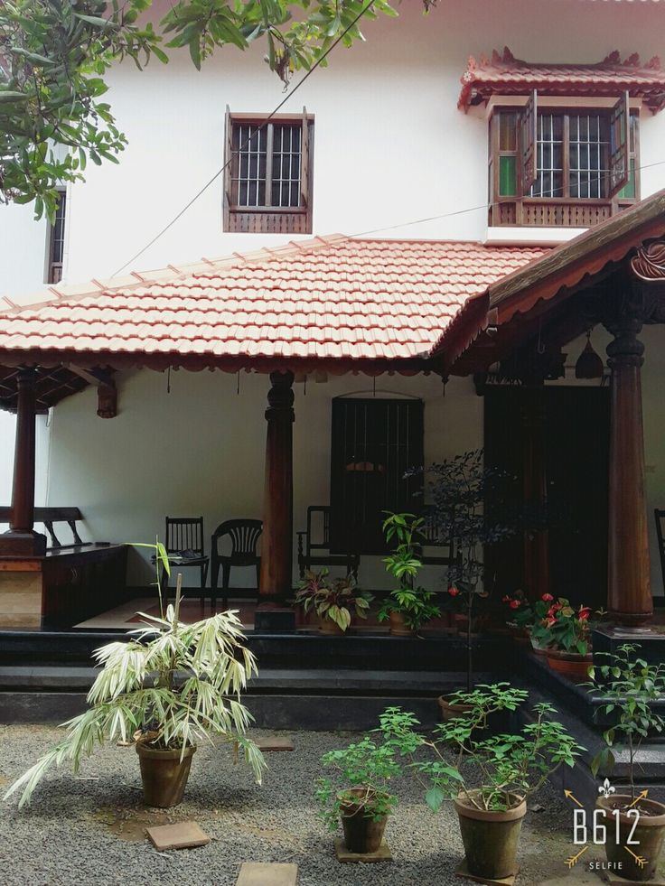 235 best mangalore tiled houses images on pinterest for Indian home garden design