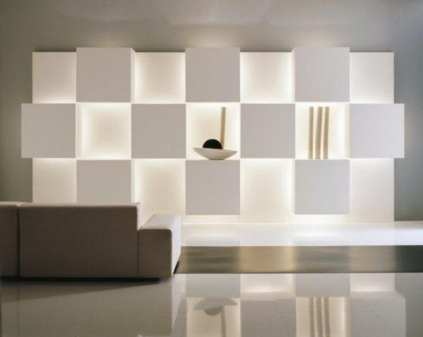 indirect lighting provides a fantastic glow