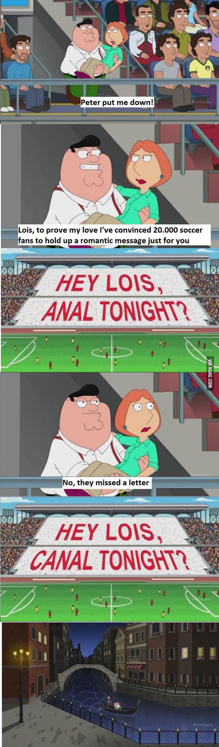 Family Guy in Italy