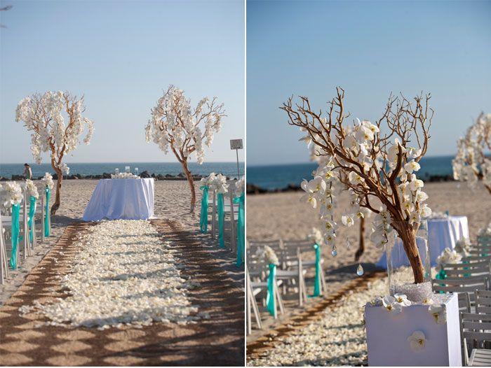 Beach Wedding Ceremony Decorations: 1000+ Images About Aqua Beach Wedding Inspiration On