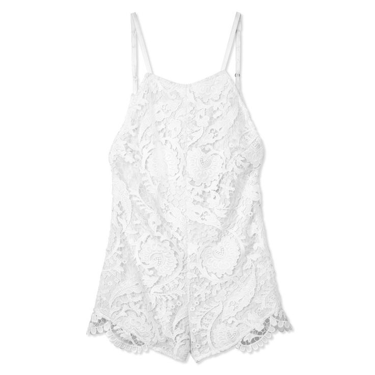 #stonecoldfox White Ryder Romper