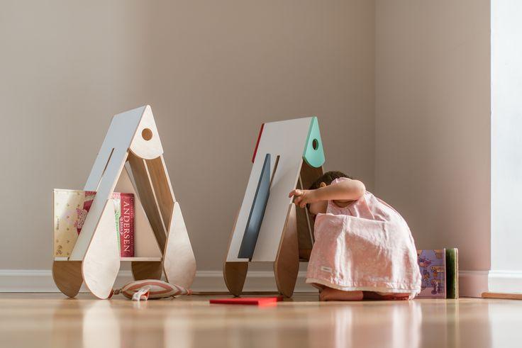 natural wooden shelf - Rocket...Real fun...