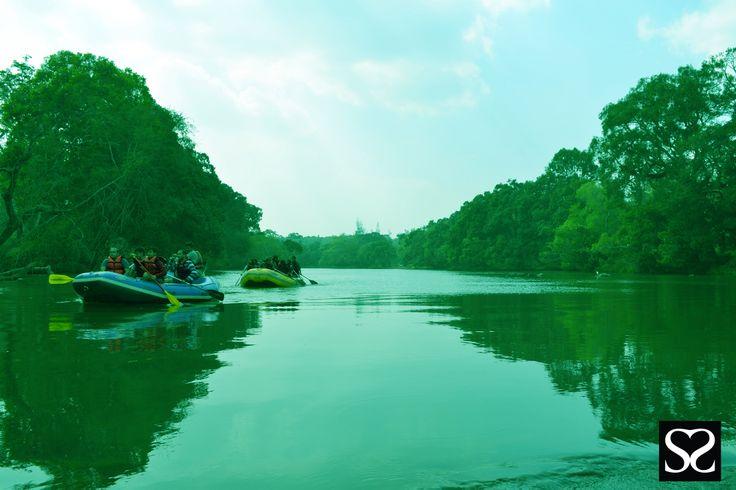 River Rafting @ Dubare, Coorg Satheesh Sankaran Photography www.facebook.com/justanothercreativesoul www.flickr.com/photos/justanothercreativesoul