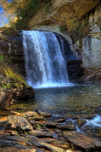 Looking Glass Falls Brevard Nc Swimming Hole Places To Go Pinterest Summer Swimming