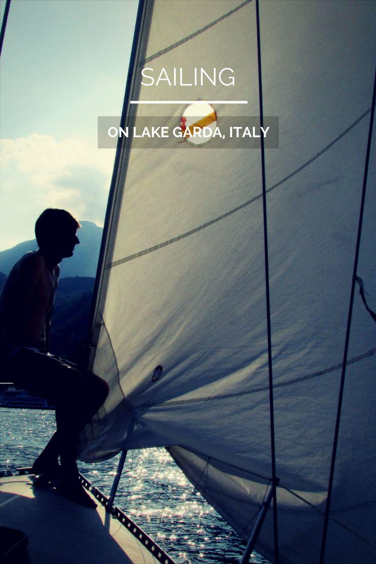 Italy, #Lake Garda, #Sailing