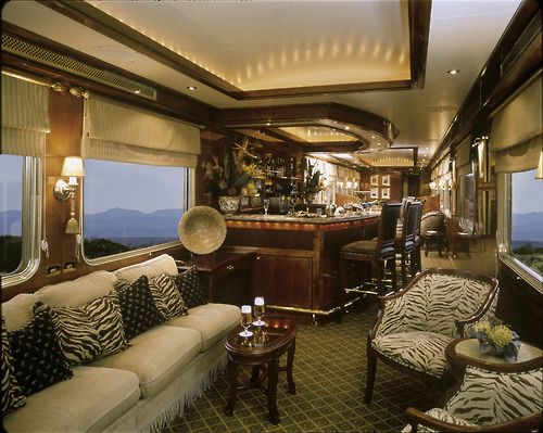 **The Blue Train - A window to the soul of South Africa The Ultimate Luxury Rail Cruise Experience.