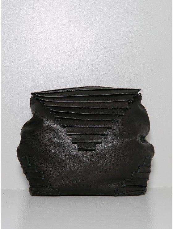 alea duo bag leather black