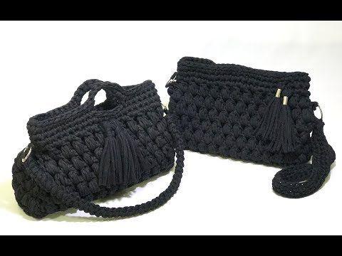 TUTORIAL: Bolsa Clutch (Crochê) - YouTube