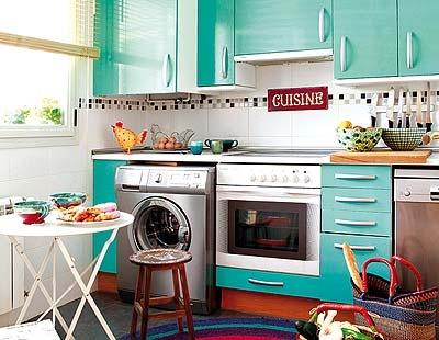 Actualiza tu cocina con color