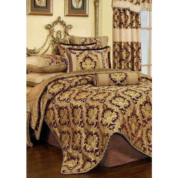 austin horn classics purple elizabeth comforter set 670 liked on polyvore featuring home