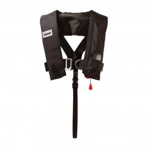 Marinepool 180N Racer Plus ISO Automatik-Rettungsweste mit Lifebelt