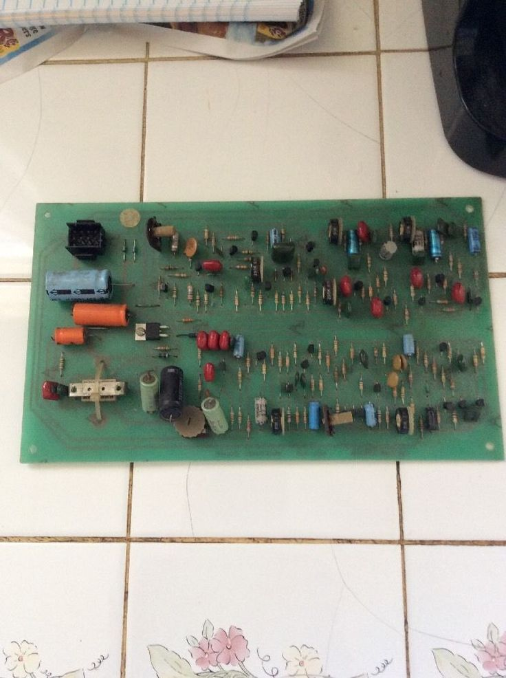 1976 Midway Sea Wolf Sound Board Tested Working