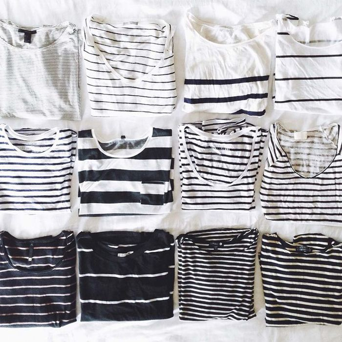 You can never have too many striped tees.