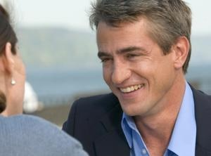Dermot Mulroney, oh I like him!    Griffin and Phoenix