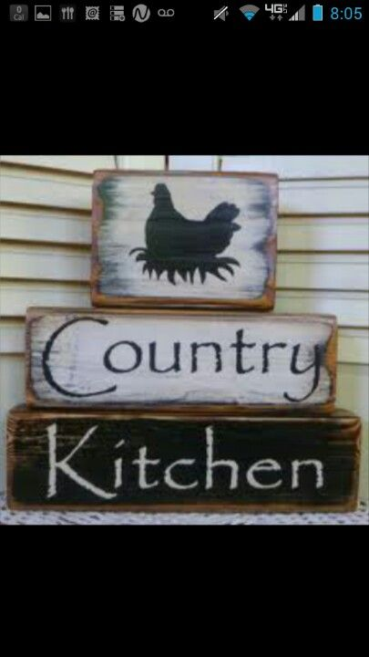 Country kitchen blocks!!