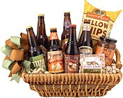 Beer Gift Baskets, Beer Baskets, Microbrew Baskets, Domestic Beer Baskets, Beer basket