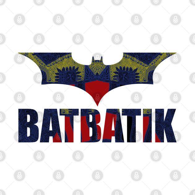 Check Out This Awesome 'BATBATIK+When+Bat+Meets+Batik