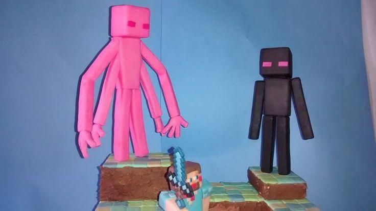 Muñecos Minecraft