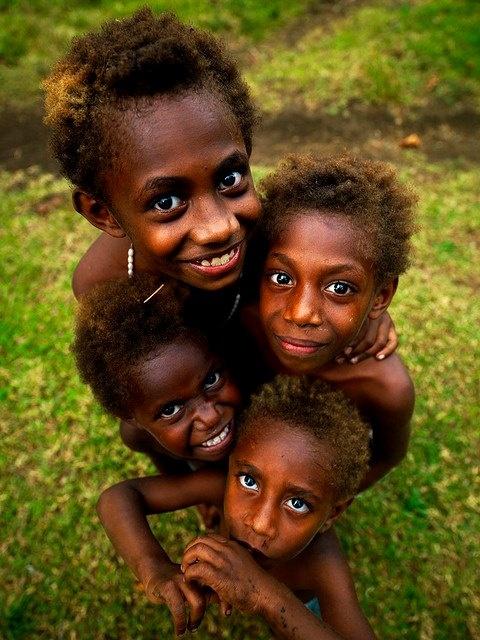 The children in vanuatu are some of the happiest I've met.