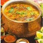 Haleem - Pakistani Lamb/lentil dish. so damn good!