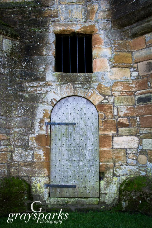 Side door, Linlithgow Palace  by graysparks photography, Scotland