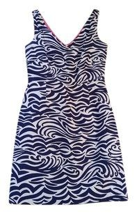 Lilly Pulitzer short dress Navy Blue & White on Tradesy
