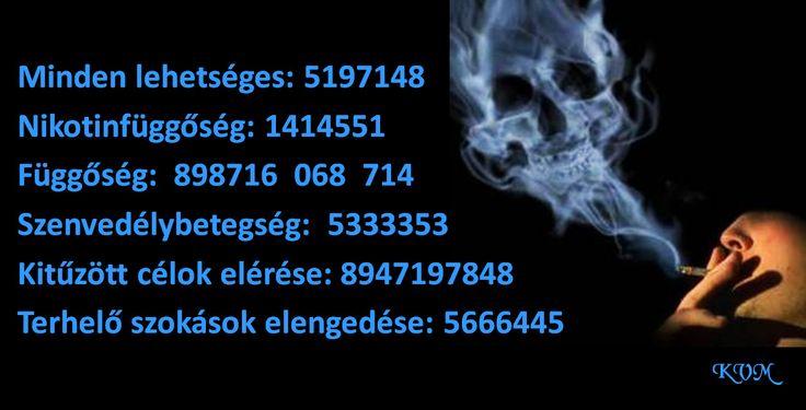 Dohányzásról leszokáshoz