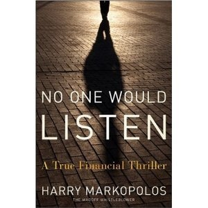 This is the story of the Bernie Madoff ponzi scheme as told by the man who exposed it.
