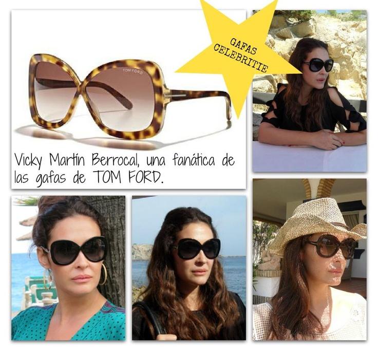 Vicky Martin Berrocal, una fan total de las gafas de TOM FORD. Este modelo en particular le queda genial !