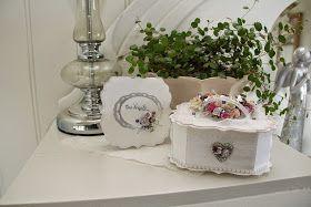 Weddingcard in a box