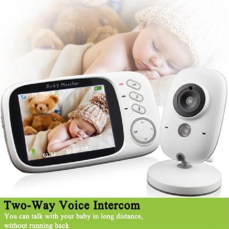 (61.28$)  Buy here - http://ail9c.worlditems.win/all/product.php?id=32696744378 - Radio babysitter video nanny IR Night vision Intercom Lullabies Temperature monitor 3.2 inch radio babysitter nanny dopler fetal