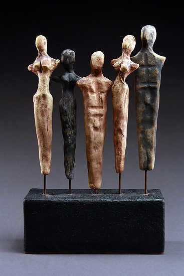 """One World""  Ceramic Sculpture    Created by Cathy Broski  One of a Kind"