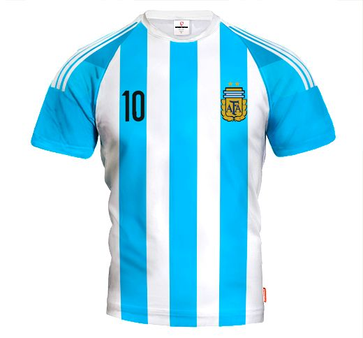 ARGENTINA HOME 2015/16 Football Jersey With Custom Name and Number