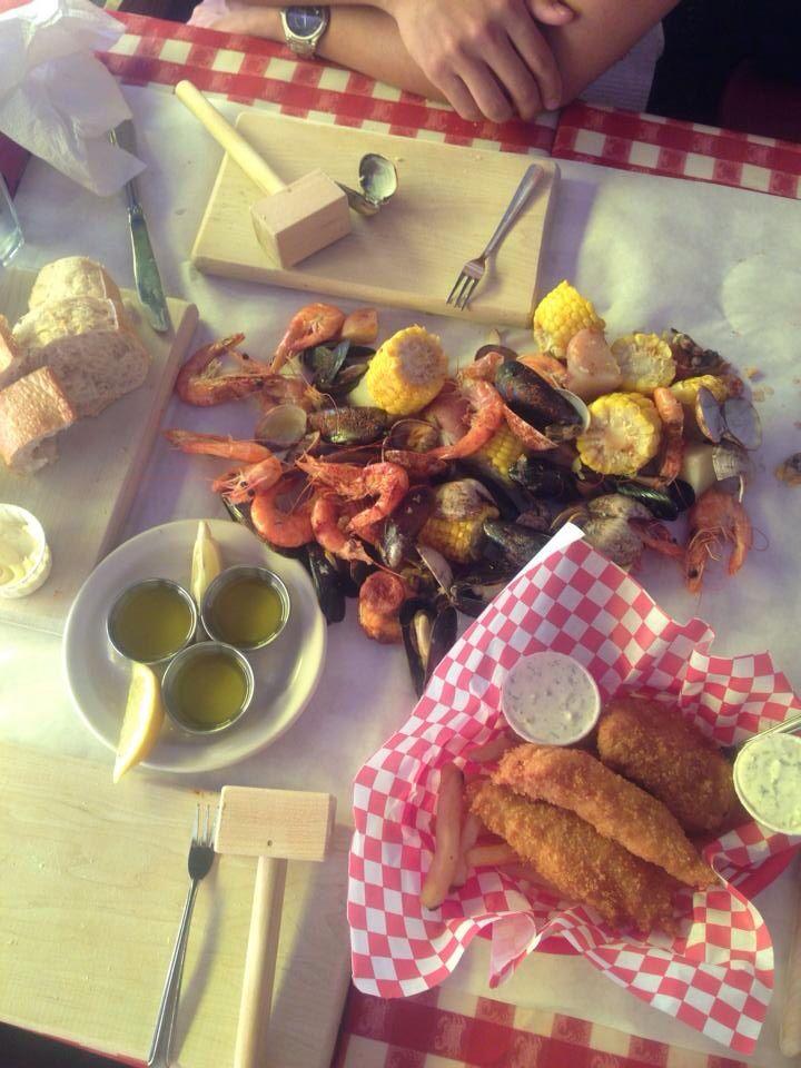 The Crab Pot in Seattle, Washington.