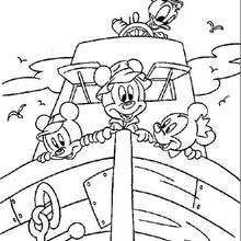 202 Best Images About Mickey Mouse Coloring Pages On