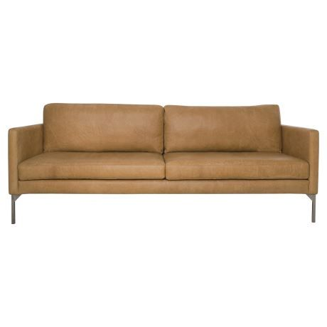 Indulge in luxury at its finest with the Clifford 3-seater sofa. This high-end piece would not look out of place in an uber-cool Manhattan loft or more urban-style digs. The sleek design captures the look of the moment that will only get better with age. Upholstered in a soft cotton-linen fabric, not only will it go the distance but it captures an on-trend industrial look. The sofa's generous scale and feather- and foam-filled cushions make it your go-to spot for relaxation, and be…