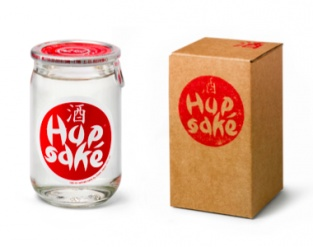 'Hupsake is the first Dutch sake brand founded in 2010. It's more than just sake. It's a positive spirit. The word 'Hupsake' means 'Go For It' in Dutch. Hupsake encourages people to follow their heart and dreams. It makes people move. Get the spirit at www.hupsake.nl'  |via optionsamsterdam.com