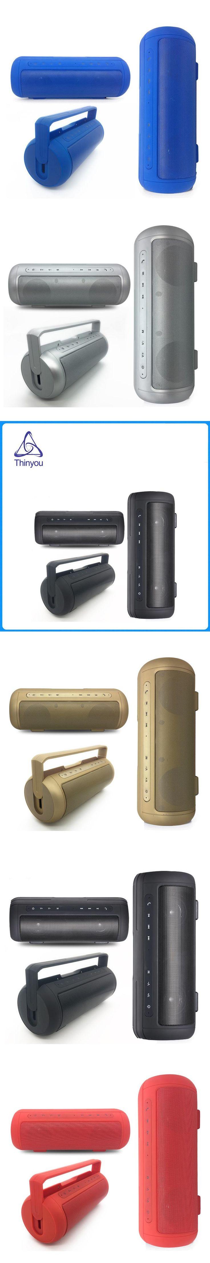 Thinyou Best Wireless Bluetooth Speaker Waterproof Portable Outdoor Mini Column Box Loudspeaker MP3 Player Handsfree FM Mic TF