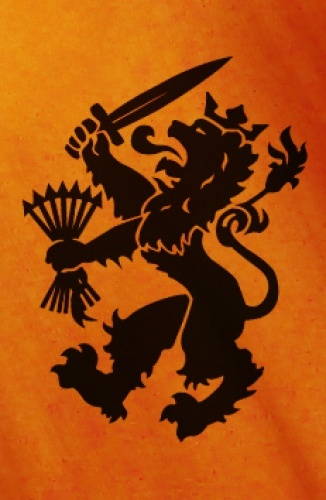The Dutch lion is one of the symbols we use since the middle ages. It was for example on coats of arms. Nowadays we still use the lion. It's in the logo of the government, but also on the team shirts of the national football team.
