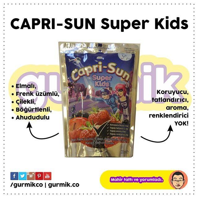 Çocukluğumdan beri satışta olan #CapriSun ın yeni sahibi Freşa İçecek oldu. Eskiden Kervan Gıda, Tat Gıda (Koç Holding) gibi kurumların markası olan Capri-Sun'ın yeni çeşitlerinden biri de #SuperKids....