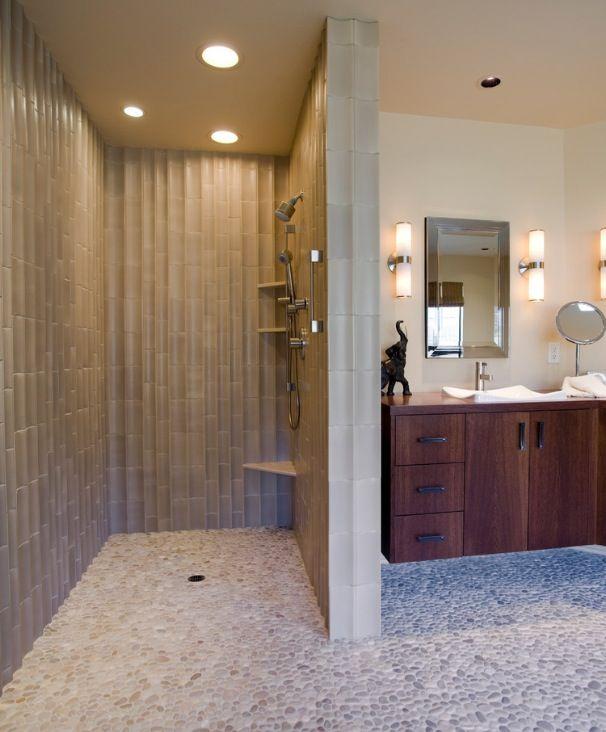 Simple Bathroom idea for my clients house!