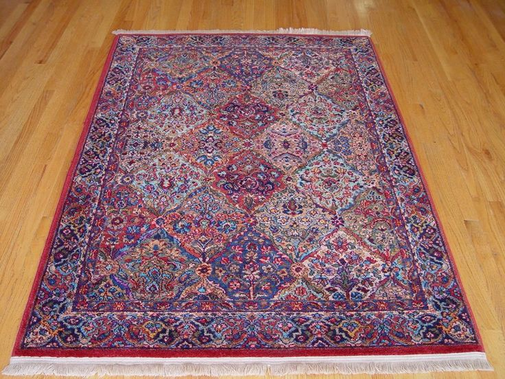 4 3 Quot X 6 Karastan Multi Color Panel Kirman 717 Usa Wool