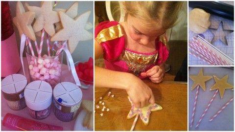 Des idées pour organiser une fête d'enfants sous le thème des princesses