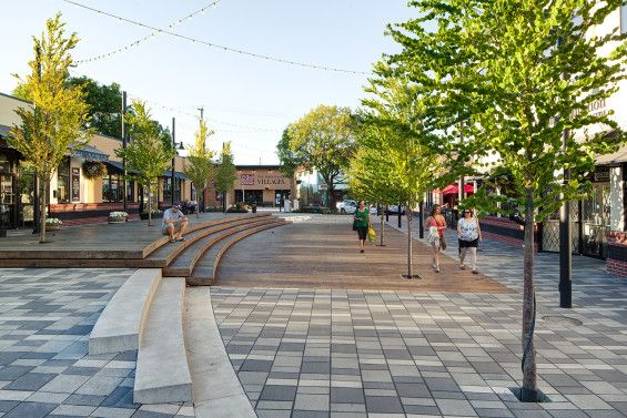 Hapa Collaborative revitalizes the heart of the City of Langley #urban #plaza #canada