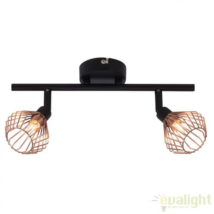 Lustra aplicata design modern minimalist Dalma II 21013/76 BL - Corpuri de iluminat, lustre, aplice