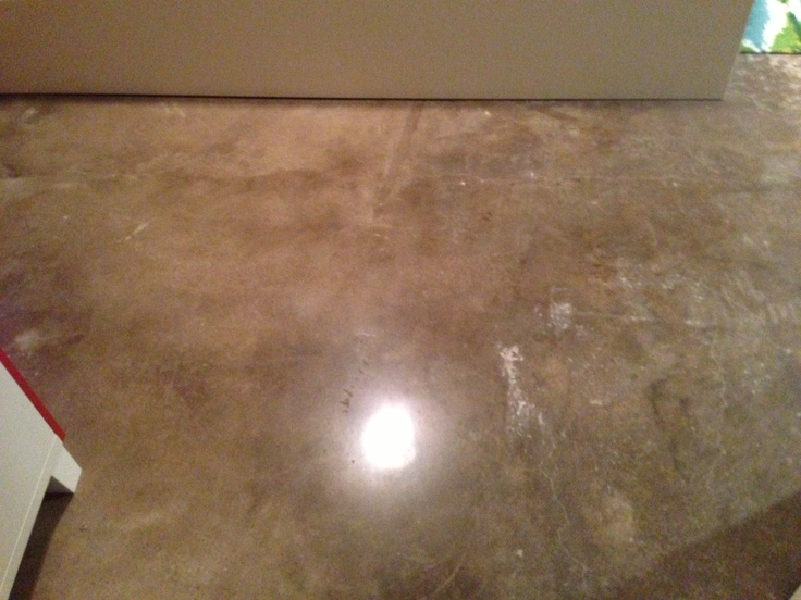 Master Bedroom Redo Polished Concrete Floors In 3 Bedrooms And Master Bath No Stain Just