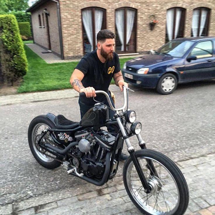 Harley Bobber Chopper #harleydavidsonsporster #harleydavidsonchopper