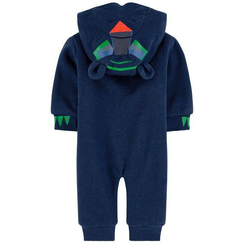 Tiger Organic Cotton Jumpsuit Stella Mccartney Kids For